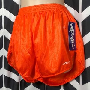 NEW Dolfin Orange Shorts Athletic Gym Hooters XL G